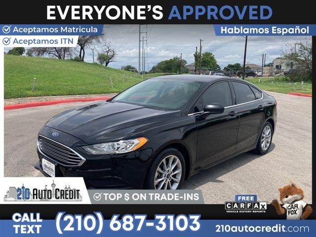 2017 Ford Fusion SE in San Antonio, TX 78237