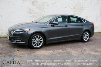 2017 Ford Fusion SE Ecoboost w/Backup Cam, Heated Seats, LED Headlights, Bluetooth Audio & Gets 32+ MPG in Eau Claire, Wisconsin 54703