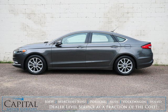 2017 Ford Fusion SE Ecoboost w/Backup Cam, Heated Seats, LED Lighting, Bluetooth Audio& Gets 32+ MPG in Eau Claire, Wisconsin 54703