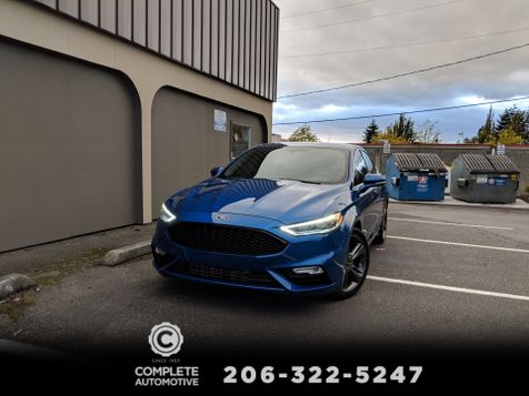 2017 Ford Fusion Sport AWD Twin Turbo V6 1 Owner Full Local History Pothole Detection LED Headlights in Seattle