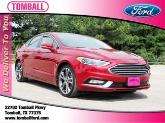 2017 Ford Fusion Titanium in Tomball, TX 77375