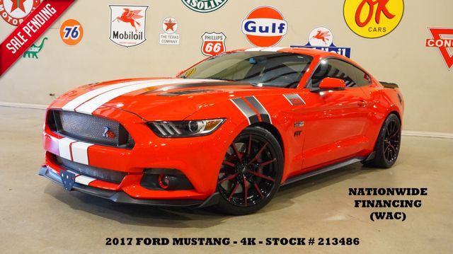 2017 Ford Mustang GT Premium 6 SPD,COYOTE PKG,NAV,HTD/COOL LTH,4K in Carrollton, TX 75006