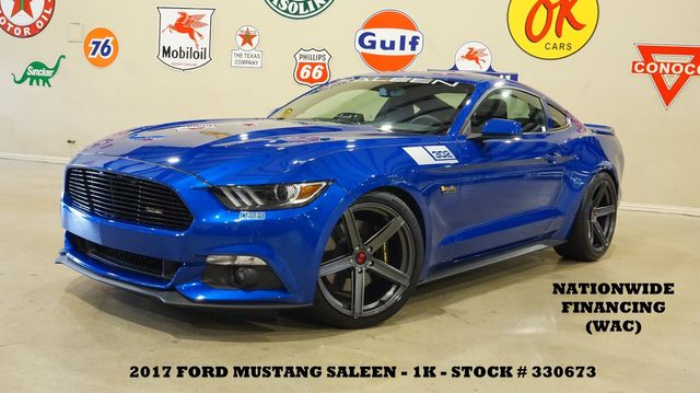 2017 Ford Mustang Saleen Coupe 302 YELLOW LABEL 33 MSRP 60K,1K