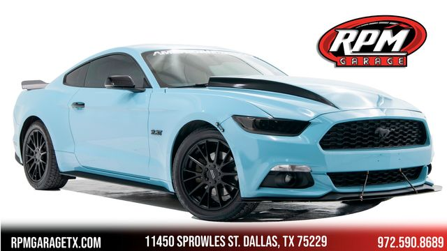 2017 Ford Mustang EcoBoost Premium with Many Upgrades