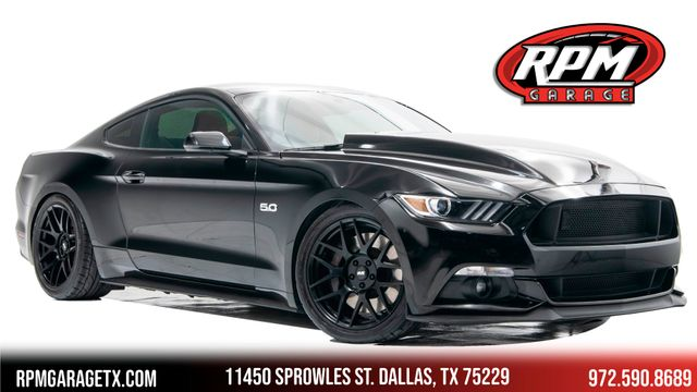2017 Ford Mustang GT Premium Supercharged with Many Upgrades