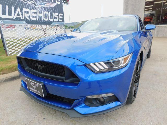 2017 Ford Mustang GT Premium, Manual, CD, Blk Accent Pkg, Blk Alloys in Dallas, Texas 75220
