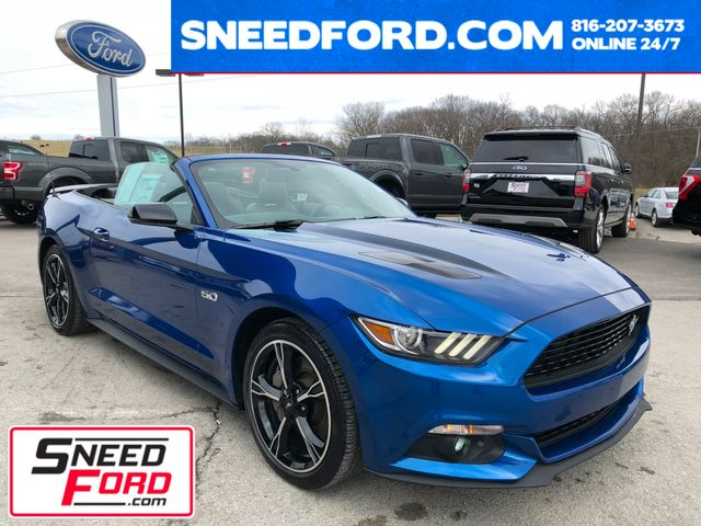 2017 Ford Mustang GT Premium California Special Convertible