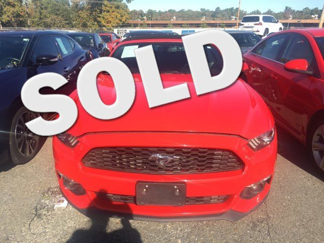 2017 Ford Mustang Eco Premium - John Gibson Auto Sales Hot Springs in Hot Springs Arkansas