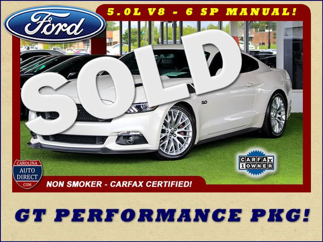 2017 Ford Mustang GT PERFORMANCE PKG - LEATHER - ONE OWNER! Mooresville , NC