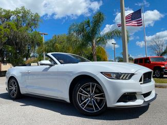 2017 Ford Mustang CONVERTIBLE PREMIUM ECOBOOST CARFAX CERT  Plant City Florida  Bayshore Automotive   in Plant City, Florida