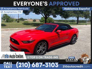 2017 Ford Mustang EcoBoost Premium in San Antonio, TX 78237