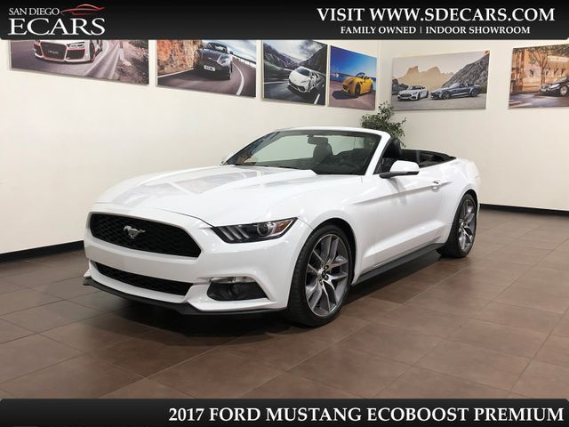 2017 Ford Mustang EcoBoost Premium in San Diego, CA 92126