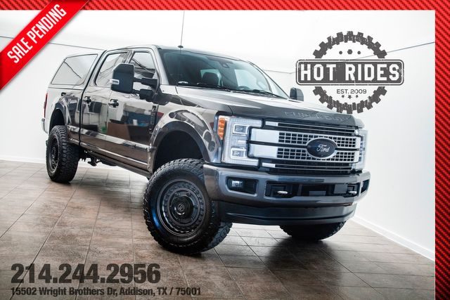 2017 Ford Super Duty F-250 Platinum Ultimate Lifted With Many Upgrades