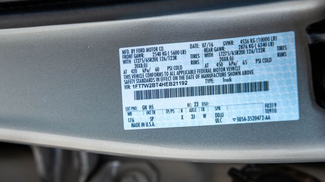 2017 Ford Super Duty F-250 King Ranch SRW 4x4 in Addison, Texas 75001
