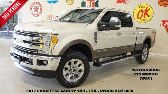 2017 Ford Super Duty F-250 Lariat 4X4 PANO ROOF,NAV,HTD/COOL LTH,20'S,17K!