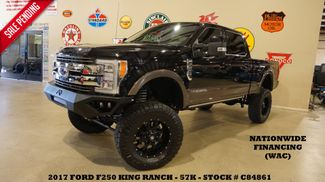 2017 Ford F-250 King Ranch 4X4 LIFTED,ROOF,360 CAM,BLK 20'S,57K in Carrollton, TX 75006
