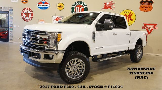 2017 Ford F-250 Lariat 4X4 DIESEL,LIFTED,360 CAM,FUEL WHLS,41K