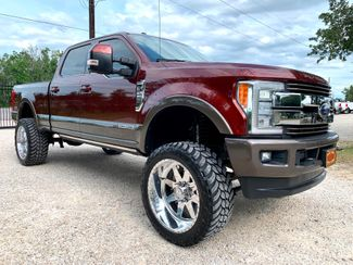 2017 Ford Super Duty F-250 King Ranch Crew Cab FX4 4X4 6.7L Powerstroke Diesel Auto LIFTED in Sealy, Texas 77474