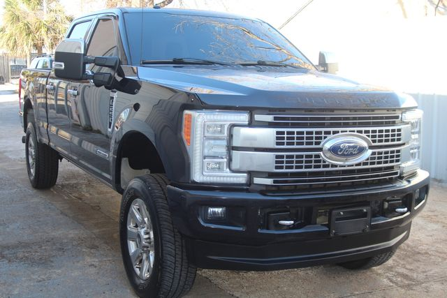 2017 Ford Super Duty F-250 Pickup Platinum with Ultimate PKG Houston, Texas 2