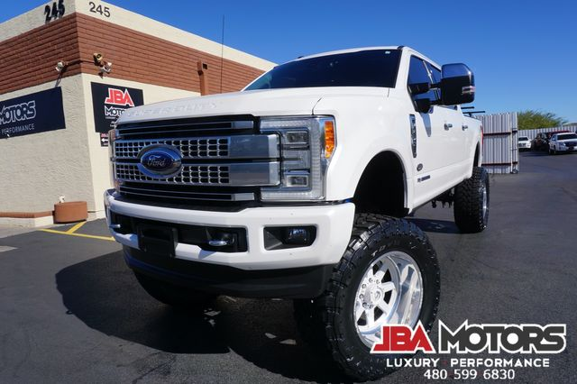 2017 Ford Super Duty F-250 Pickup Platinum F250 4x4 Diesel 4WD Crew Cab MUST SEE