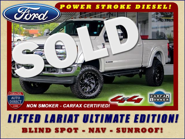 2017 Ford Super Duty F-250 Pickup Lariat Ultimate Edition Crew Cab 4x4 - LIFTED! Mooresville , NC 0