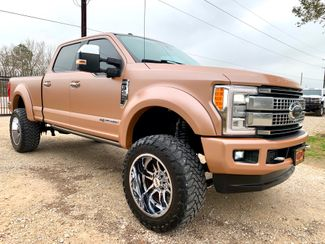 2017 Ford Super Duty F-250 Platinum Crew Cab FX4 4X4 6.7L Powerstroke Diesel Auto LIFTED WRAPPED in Sealy, Texas 77474