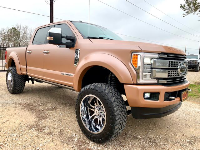 2017 Ford Super Duty F-250 Platinum Crew Cab FX4 4X4 6.7L Powerstroke Diesel Auto LIFTED WRAPPED