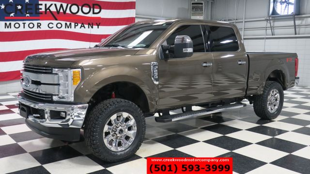 2017 Ford Super Duty F-250 Lariat 4x4 6.2L Gas Leather Nav New Tires 1 Owner