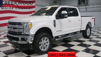 2017 Ford Super Duty F-250 Lariat 4x4 Diesel White 1 Owner Nav Roof New Tires in Searcy, AR 72143