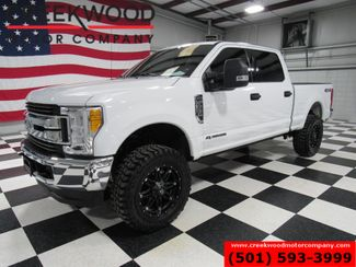 2017 Ford Super Duty F-250 XLT 4x4 Diesel White Lift 20s New Tires Leather in Searcy, AR 72143