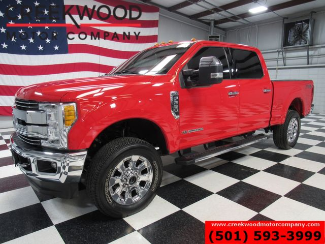 2017 Ford Super Duty F-250 Lariat 4x4 Diesel FX4 Red 1 Owner Nav Sunroof 20s in Searcy, AR 72143