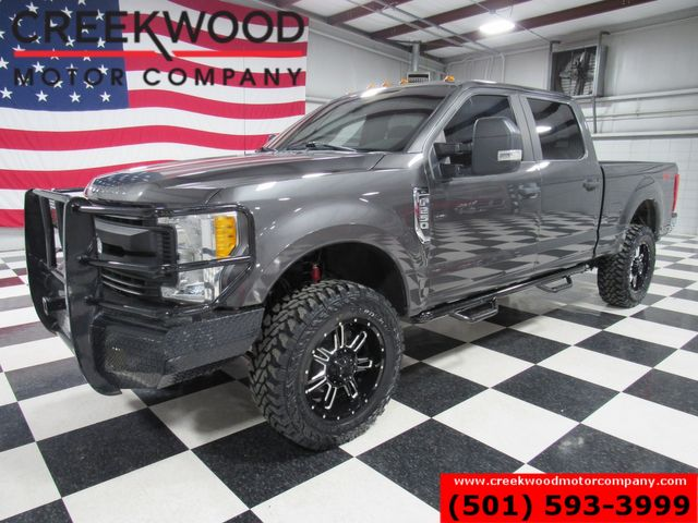 2017 Ford Super Duty F-250 XLT 4x4 6.2L Gas Lifted Black 20s New Tires Extras in Searcy, AR 72143