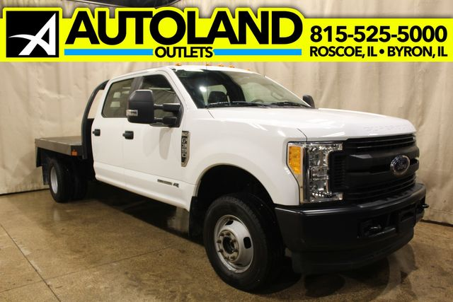 2017 Ford Super Duty F-350 diesel 4x4 flat bed XL
