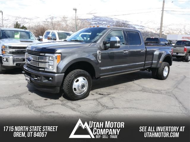 2017 Ford Super Duty F-350 DRW Pickup Platinum in Orem, Utah 84057