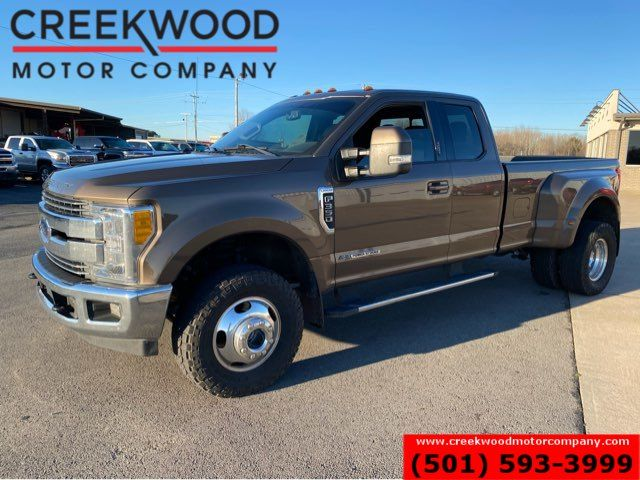 2017 Ford Super Duty F-350 Lariat 4x4 Powerstroke Diesel Dually 1 Owner NICE