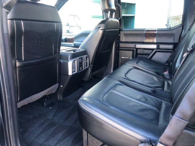 2017 Ford Super Duty F-350 SRW Pickup Platinum LINDON, UT 23
