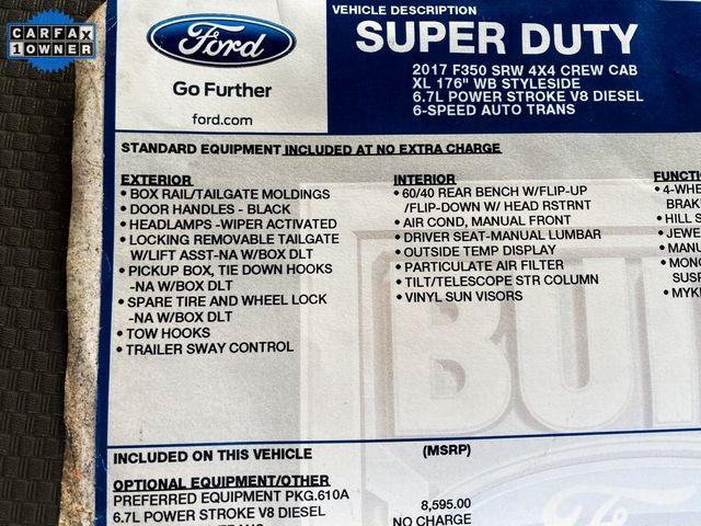2017 Ford Super Duty F-350 SRW Pickup XL Madison, NC 33