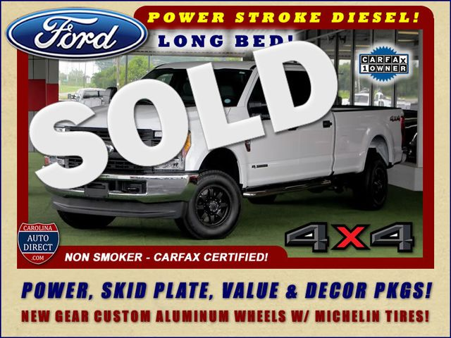 2017 Ford Super Duty F-350 SRW Pickup Crew Cab Long Bed 4x4 - POWER STROKE DIESEL! Mooresville , NC 0