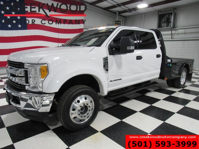 2017 Ford Super Duty F-450 XLT 4x4 Diesel Dually White Utility Flatbed 1Owner in Searcy, AR 72143