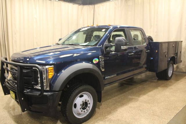 2017 Ford Super Duty F-550 DRW Utility diesel 4x4 XL in Roscoe IL, 61073