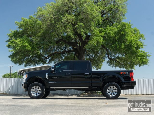 2017 Ford Super Duty F250 Crew Cab Platinum FX4 6.7L Power Stroke Diesel 4X4