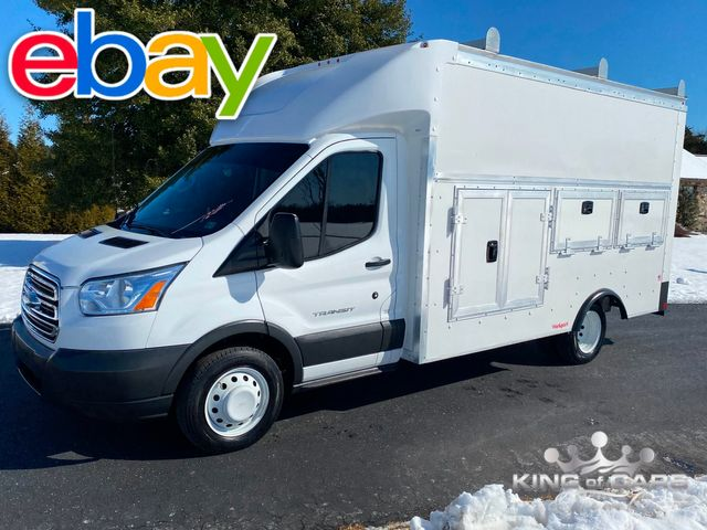 2017 Ford Transit 350hd WALK-IN SERVICE UTILITY VAN ONLY 12K MILES LIKE NEW