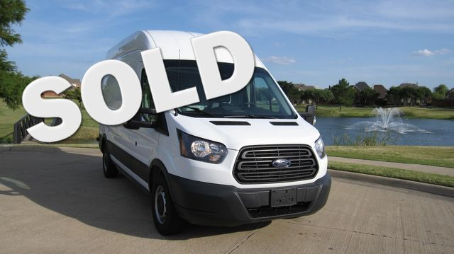 """2017 Ford Transit 250 148"""" High Roof  Cargo Van W/ Cargo Glide Irving, Texas"""