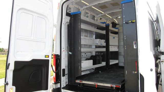 """2017 Ford Transit 250 148"""" High Roof  Cargo Van W/ Cargo Glide Irving, Texas 21"""