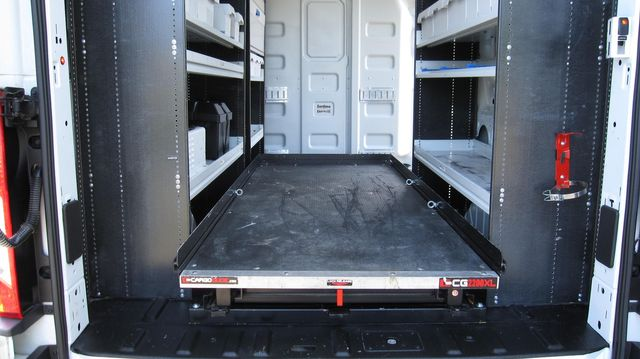 """2017 Ford Transit 250 148"""" High Roof  Cargo Van W/ Cargo Glide Irving, Texas 24"""
