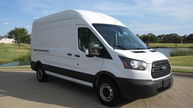 """2017 Ford Transit 250 148"""" High Roof  Cargo Van W/ Cargo Glide Irving, Texas 8"""