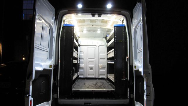 """2017 Ford Transit 250 148"""" High Roof  Cargo Van W/ Cargo Glide Irving, Texas 85"""