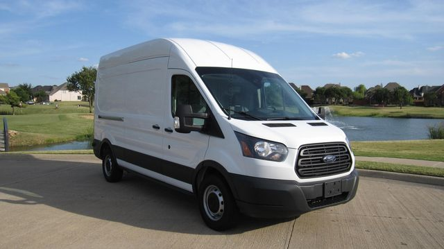 """2017 Ford Transit 250 148"""" High Roof  Cargo Van W/ Cargo Glide Irving, Texas 88"""