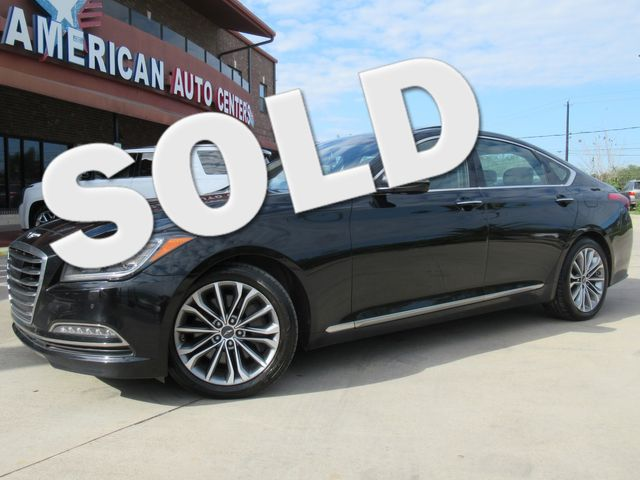 2017 Genesis G80 Ultimate AWD | Houston, TX | American Auto Centers in Houston TX