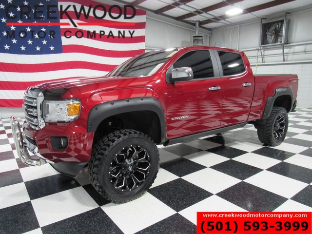 2017 GMC Canyon SLT 4x4 Lifted Fuel 20s AMP Steps Low Miles NAV in Searcy, AR 72143